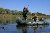 Выбираем надувную лодку для рыбалки